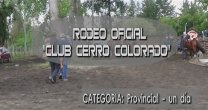 Bozo y Krause celebraron en el Rodeo del Club Cerro Colorado